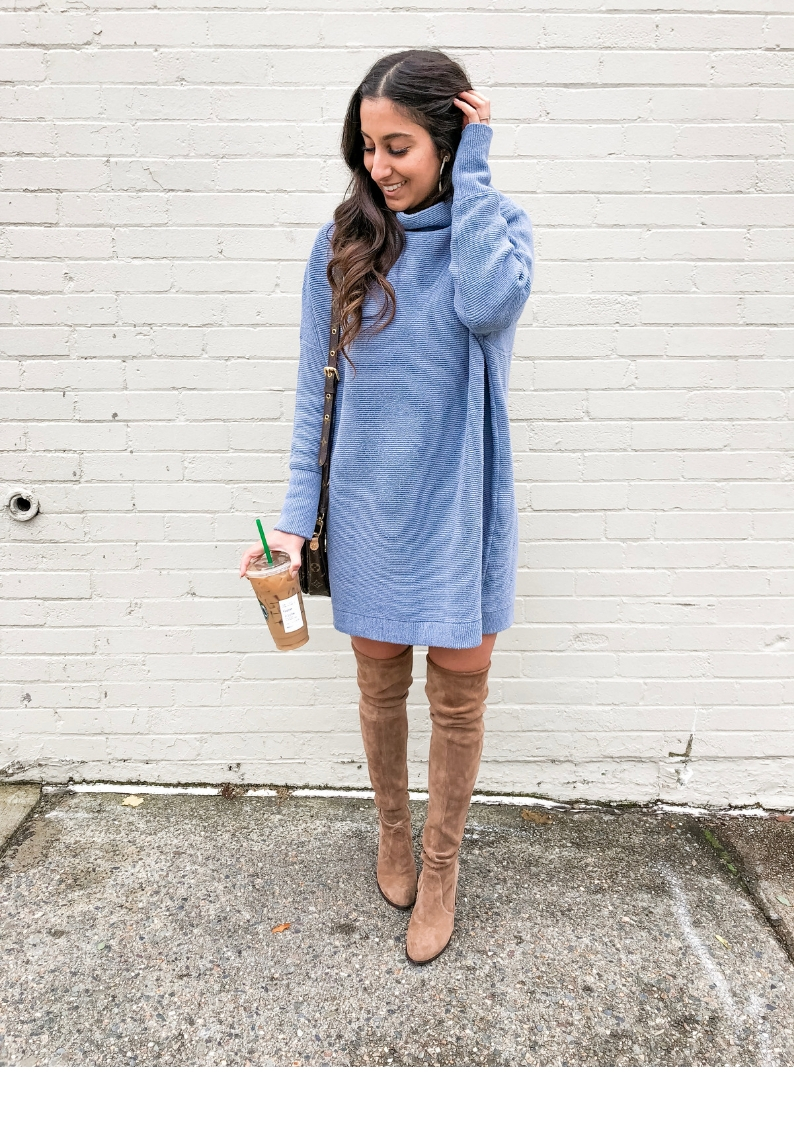 f73022f8590 The One Sweater Dress you Need in Your Closet - Olive   Rose